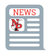 Newsletter icon with NP logo