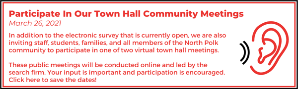 Participate in our town hall community meetings