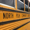 North Polk wording on bus
